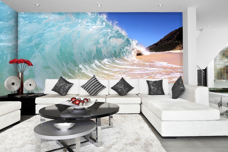 3D Meer Wellen Fotografie 84 Tapete Wandgemälde Tapete Tapeten Bild Familie DE