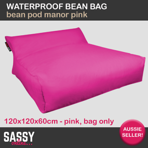 Image Is Loading Waterproof Bean Bag Bed BeanPod Manor Outdoor Movie