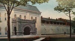 Vintage Postcard Michigan City Indiana State Prison Building And Entrance Ebay
