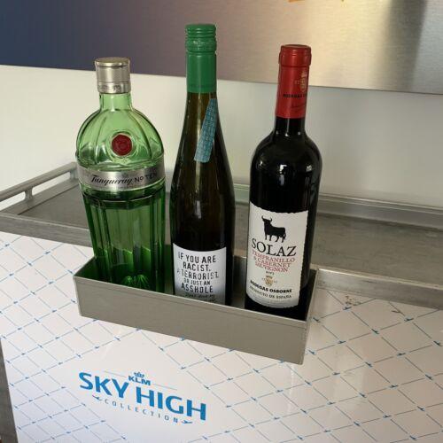 Bottle Holder NEU Passend für Flugzeugtrolley NEU Glashalter Alu Trolley Rack