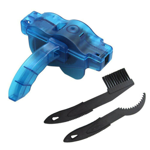 3X Motorcycle Bike Cycling Bicycle Chain Clean Brush Cleaner Scrubber Tool Handy