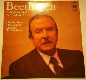 "Beethoven Klavierkonzert Nr. 5 ""Emperor"" Arrau Colin Davis ETERNA Digital"