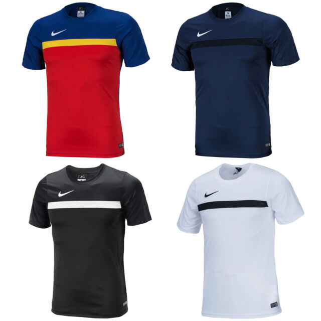 Nike Dri-Fit 2016 Academy S/S Short Sleeve Training Top Tee Shirts Soccer 739334