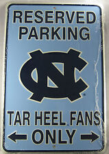 8x12 Mountaineers Reserved Parking WV Fans Only METAL SIGN wvu bar wall decor