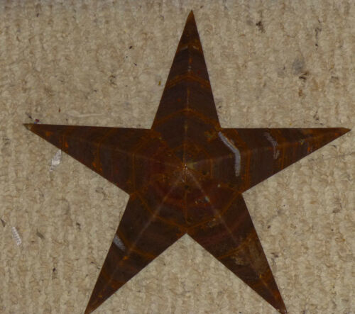 USA Made NATURAL RUST Rustic Genuine Amish Quality Primitive 29 INCH Barn Star