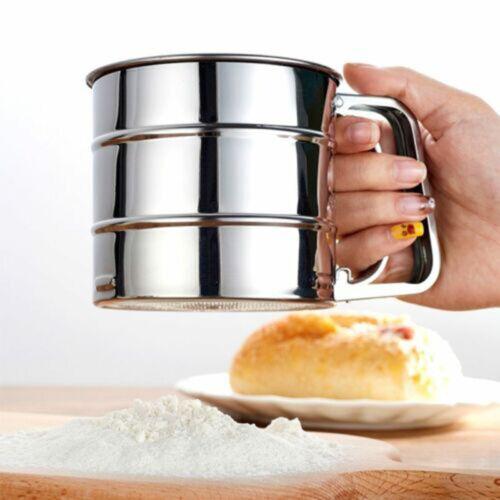 Halbautomatisches Mehlsieb Kleines Handwerkzeug Für Die Herstellung Von Cake