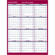 At A Glance Reversible Erasable Wall Calendar 12 X 16 Jan Dec Pm330b2822
