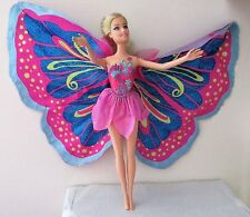 Barbie Fairy - Tastic Pink/Purple Princess Doll Working Wings Collectible EUC