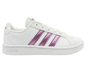 Scarpe da donna Adidas FW0810 sneakers casual sportive comode ginnastica bianche