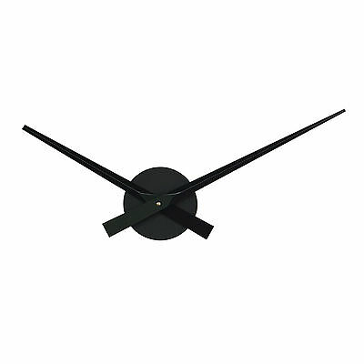 1 New DIY Modern Home Room Office Decor Large Black Wall Clocks Parts Long Hands