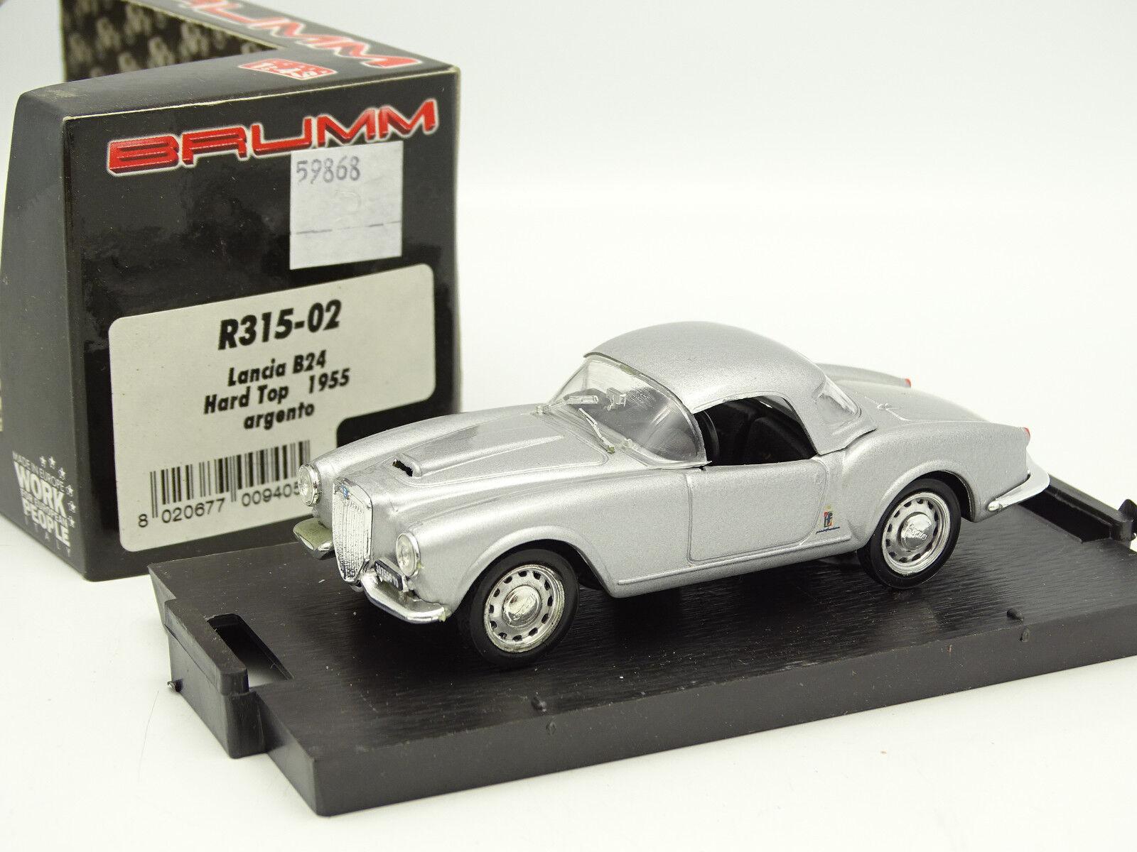 Brumm Brumm Brumm 1 43 - Lancia B24 Spider Grey 1953 3ef1a5