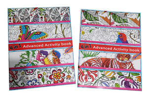 Adults Color By Number Dot To Dot Spot The Difference Coloring Books