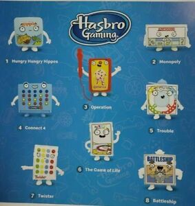2021-McDONALD-039-S-Hasbro-Family-Classic-Games-HAPPY-MEAL-TOYS-Or-Set