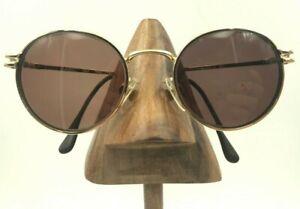79471b109d Vintage Swan 007 Basic 32 4 Gold Metal Round Sunglasses ...