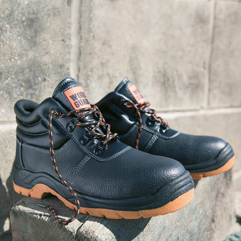Result Work Guard Defence Safety Boot Steel Toe Cap Leather Work  Boot shoes PPE