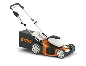 BRAND NEW STIHL RMA460 BATTERY POWERED LAWNMOWER!!! NO GAS, NO OIL, AND NO SMELL! PERFECT FOR HOME USE! Calgary Alberta Preview