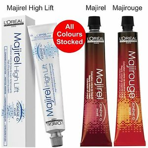majirel majirouge high lift hair colours loreal tint dye all colours stocked ebay majirel majirouge high lift hair colours loreal tint dye all colours stocked
