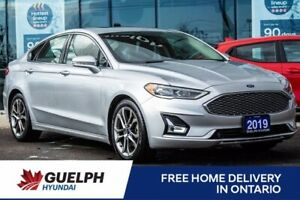 2019 Ford Fusion Titanium- Leather| Navi| Roof| 15 To Choose from!