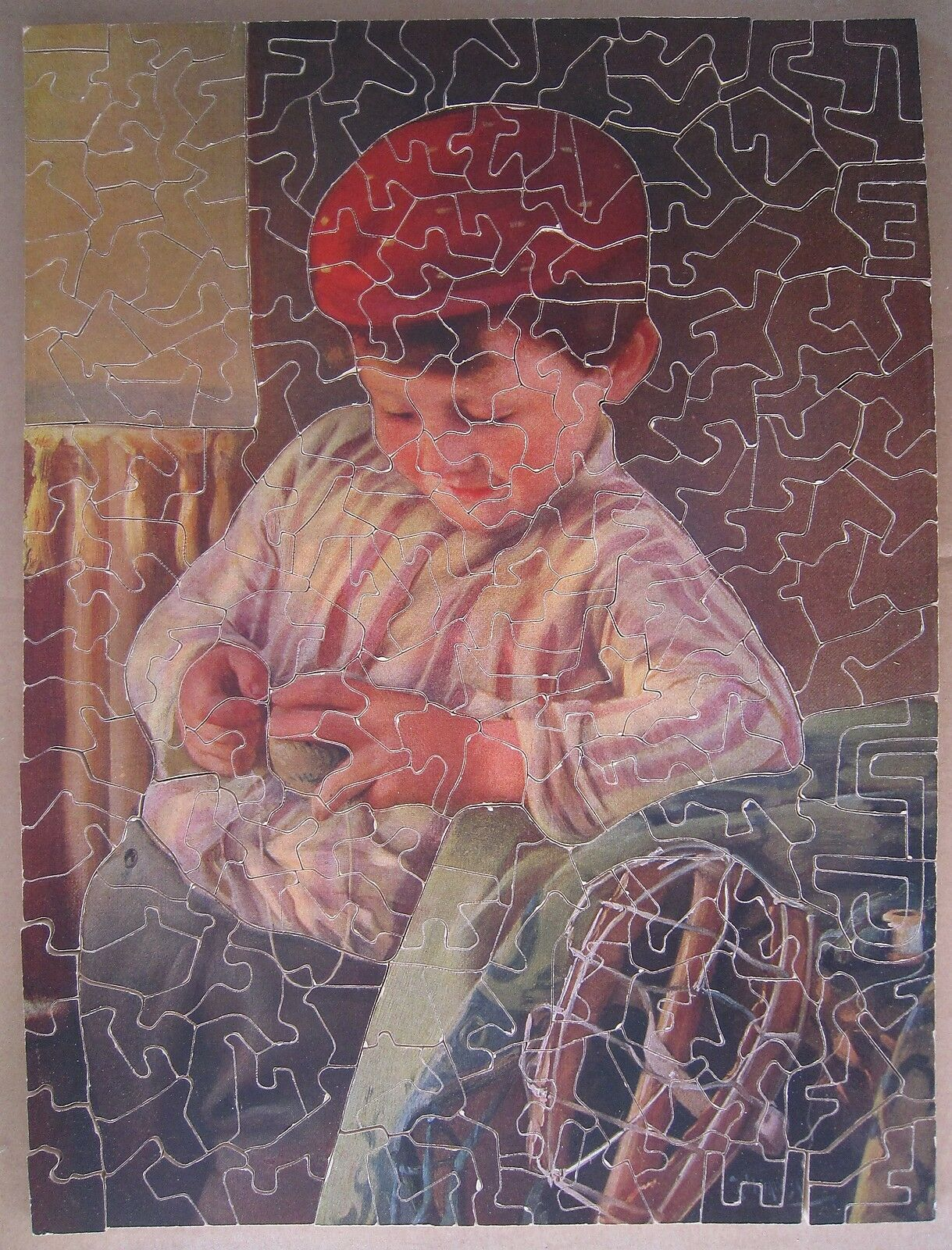 AB395 PUZZLE PASTIME CAPTAIN OF THE TEAM 250 Pièces BOIS  PARKER Complet