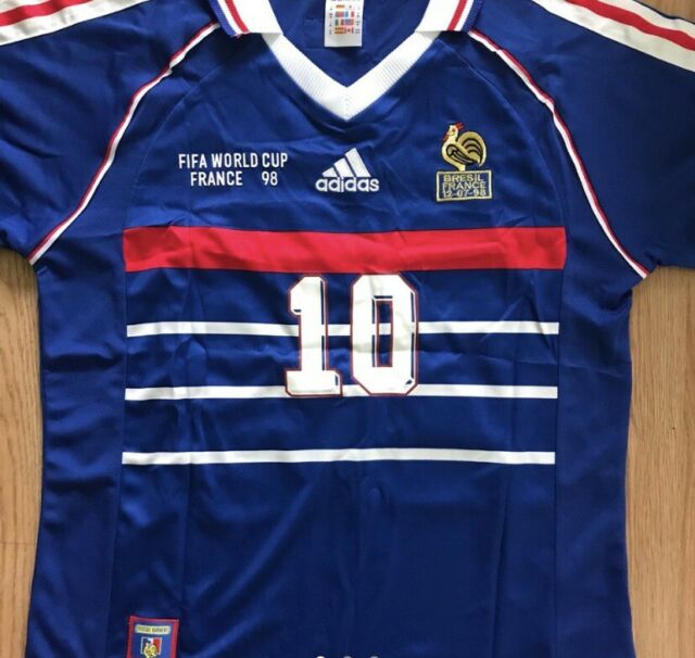 Zinedine Zidane Signed France 1998 Soccer Jersey For Sale Online Ebay