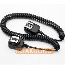 3M 3 meter i-TTL Off Camera FLASH sync Cable Cord for Nikon D7000 D5200 SB 910