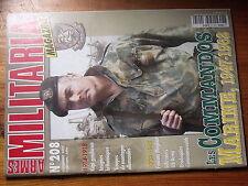 $$w Revue Armes Militaria N°208 Commandos Marine 1947-62  kepi gendarme 1914-18