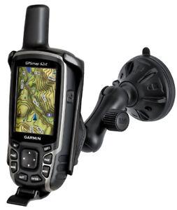 RAM-Suction-Car-Windshield-Dash-Mount-for-Garmin-GPSMAP-62-62s-62sc-62st