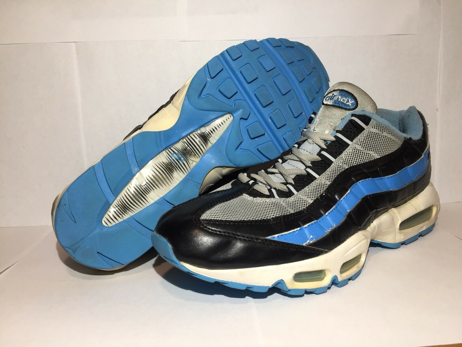 Rare 2005 Nike air max 95 bluee black 3m size 12 Sean Wotherspoon