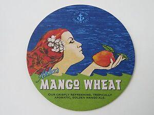 Bière Brewery dessous de Verre ~ Ancre Brewing Co Mangue Blé ; San Francisco- ahTwde9N-09102300-858818457