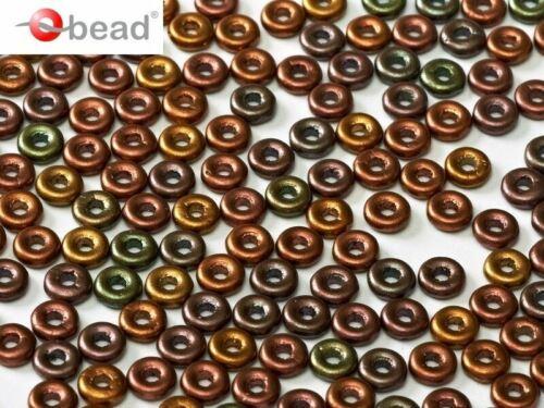 5g 1x4mm O bead® Czech Pressed Glass 155-170pcs CHOOSE COLOR