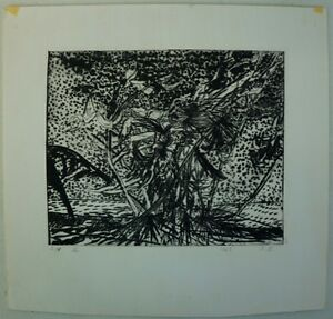Etching-by-Inge-Hansen-1910-Stormy-Landscape-Sheet-2-of-4