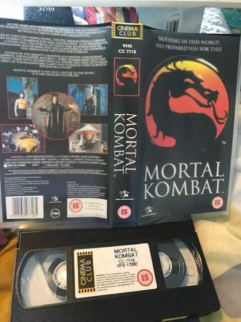 Mortal Kombat (VHS, 1997) Cert 15