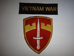 Guerre Du Vietnam Languette + États-unis Macv (militaire Assistance Command En 9qq8qnn7-07231308-391379961