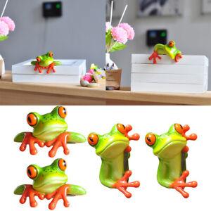 4-Piece-Modern-Exquisite-3D-Frog-Sculptures-Car-Office-Decor-Laptop-Monitor