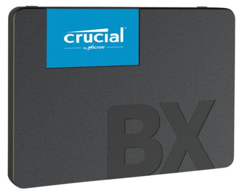 Crucial BX500 240GB, 3D NAND, SATA III, 2,5 Zoll Interne