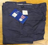 Deluxe Emt Pants W/ Teflon Stain Resistant Fabric Coating Men's Xl Navy Blue