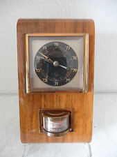 Sehr dekorative Art Deco Wetterstation LUFFT Barometer Thermometer (B190)