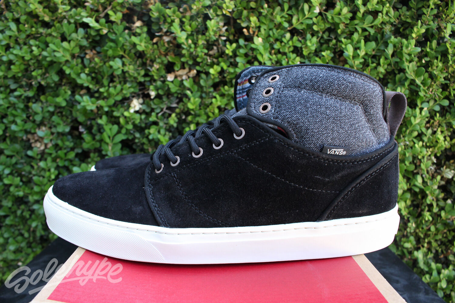 VANS OTW ALOMAR SZ 11.5 BLACK ANTIQUE WELLWORN VN 0VNBGW0