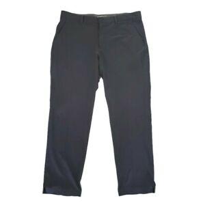 Nike-Golf-Tour-Performance-Dri-Fit-Pants-Size-38-x-32-Men-Gray-Flat-Front