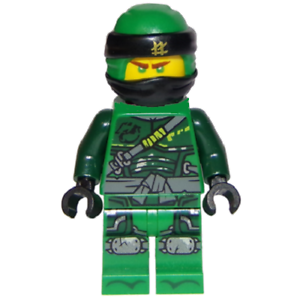 Lego Lloyd Minifigure Njo481 From Ninjago Season 9 Hunted Set 70658
