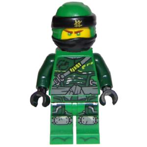 LEGO Lloyd Minifigure njo481 From NINJAGO Season 9 Hunted Set 70658