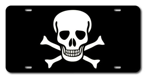 Pirate Flag Jolly Roger Black Beard License plate novelty car accessory vanity