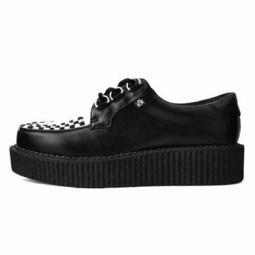 Shoes Black /& White Anarchic Creeper T.U.K