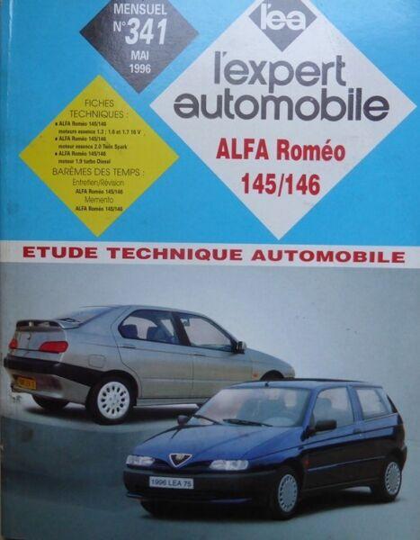 Expressief Neuve De Stock Revue Technique Alfa Romeo 145 146 Essence Turbo Dieselrta Expert