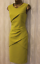 Da071 Occasion Matita Karen Millen Yellow Fitted 36 Races Party Dress piegata 8 q0FAEpwxT