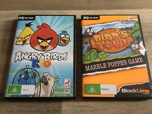Details about ANGRY BIRDS RIO & BIRDS TOWN PC GAMES STRATEGY LIKE NEW RARE  CHEAP AUS