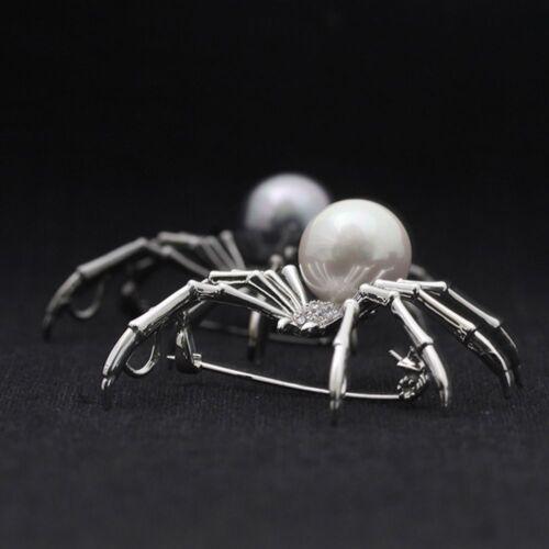 Vintage insecte araignée perle manteau robe foulard broche pin Femmes Mariage Bijoux