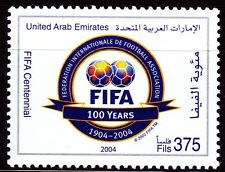 UAE 2004 ** Mi.755 100 Jahre Internationaler Fußballverband FIFA Football