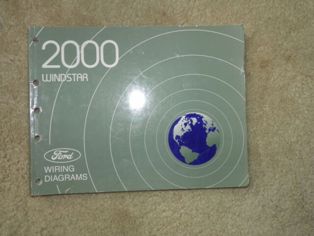 2000 Ford Windstar Wiring Diagrams