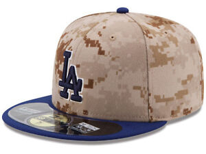 0bf8b1aa Details about Official 2014 Los Angeles Dodgers Memorial Day New Era  59FIFTY Fitted Hat